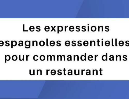 Les expressions espagnoles essentielles pour commander dans un restaurant