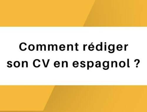 Comment rédiger son CV en espagnol ?