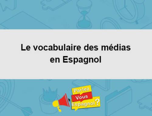 Le vocabulaire des médias en Espagnol